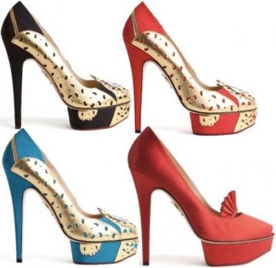 on sale f89e4 925c3 Scarpe per vere donne di Charlotte Olympia; inverno 2011/2012