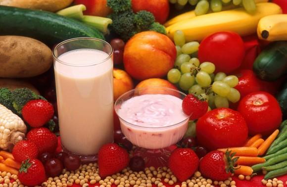 Scrub, yogurt e frutta