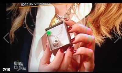 Giorgia Meloni a Quinta Colonna Mediaset riceve il Richiamo Degli Angeli